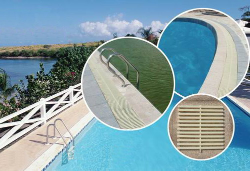 Buy Hdpe Drainage Overflow Pool Grating Hdpe Drainage