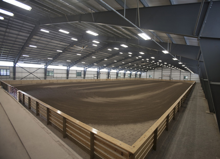 Indoor Equestrian Sports Floor System Projecct