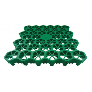 Plastic Grass Grid Block With Hdpe Material