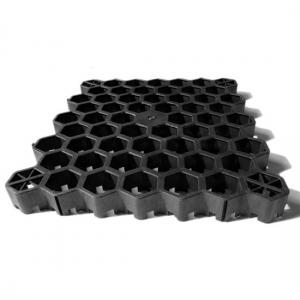 Black Mesh Grass Grids for Horse