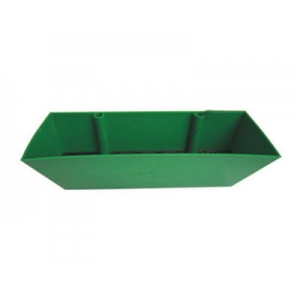 Green Vertical Plastic Plant Container
