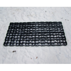 Plastic Grid Matting for Open Stable